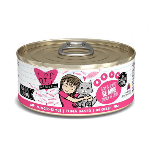 Weruva BFF Tuna and Bonito Be Mine Canned Cat Food
