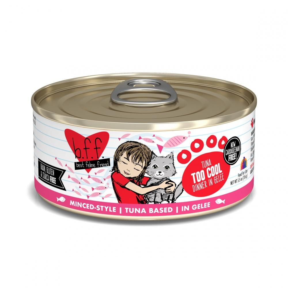 Weruva BFF Tuna Too Cool Canned Cat Food