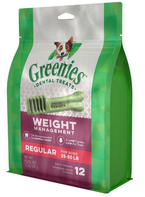 Greenies Regular Weight Management Dental Dog Chews