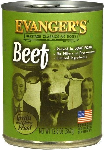 Evangers 100% Beef Classic Canned Dog Food
