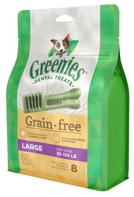 Greenies Large Grain Free Dental Dog Chews
