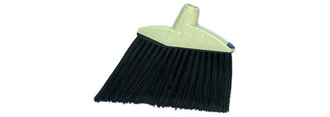 "12"" FLAGGED ANGLE BROOM WITH HANDLE (MB463)"