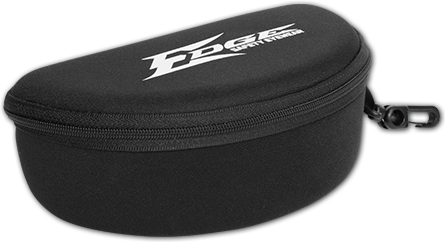 EDGE EYEWEAR POLARIZED EYE PROTECTION - HARD CASE 9810
