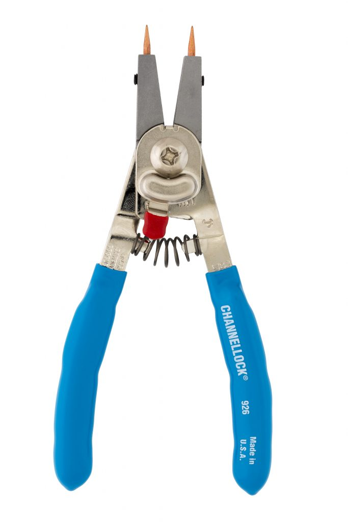 "CHANNELLOCK 926 - 6.5"" CONVERTIBLE RETAINING RING PLIERS"