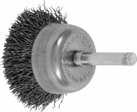 "PFERD 1-3/4"" CRIMPED CUP END BRUSH (PF82823)"
