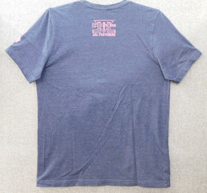 SHORT SLEEVE T-SHIRT WITH PINK LOGO AND RIBBON
