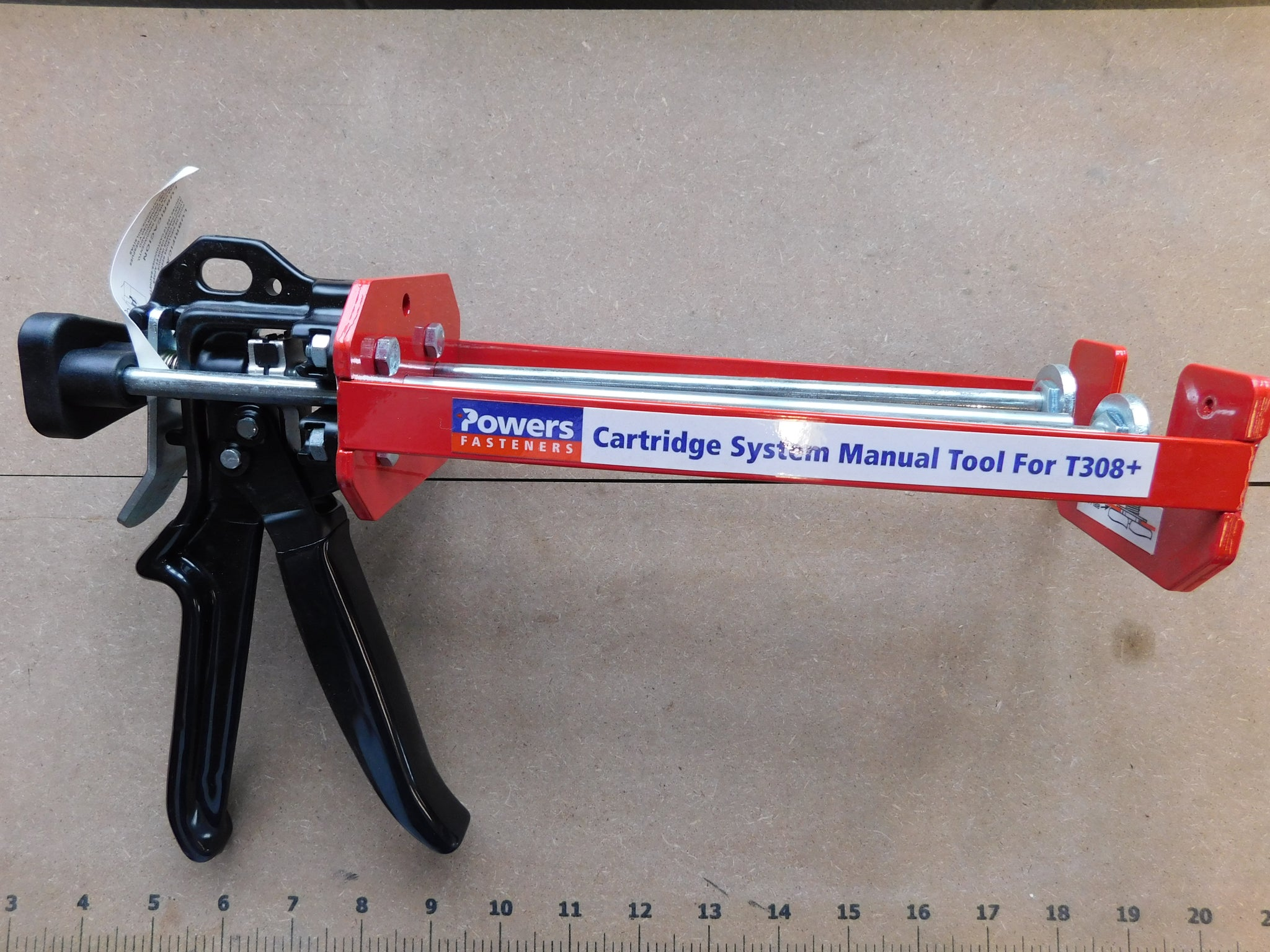 POWERS MANUAL 16 oz. CARTRIDGE EPOXY INJECTION TOOL