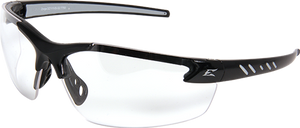 EDGE EYEWEAR- ZORGE G2 - DZ111VS-G2 - BLACK FRAME / CLEAR VAPOR SHIELD LENS