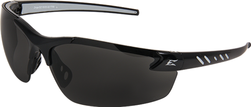 EDGE EYEWEAR- ZORGE G2 - DZ116VS-G2- BLACK FRAME / SMOKE VAPOR SHIELD LENS