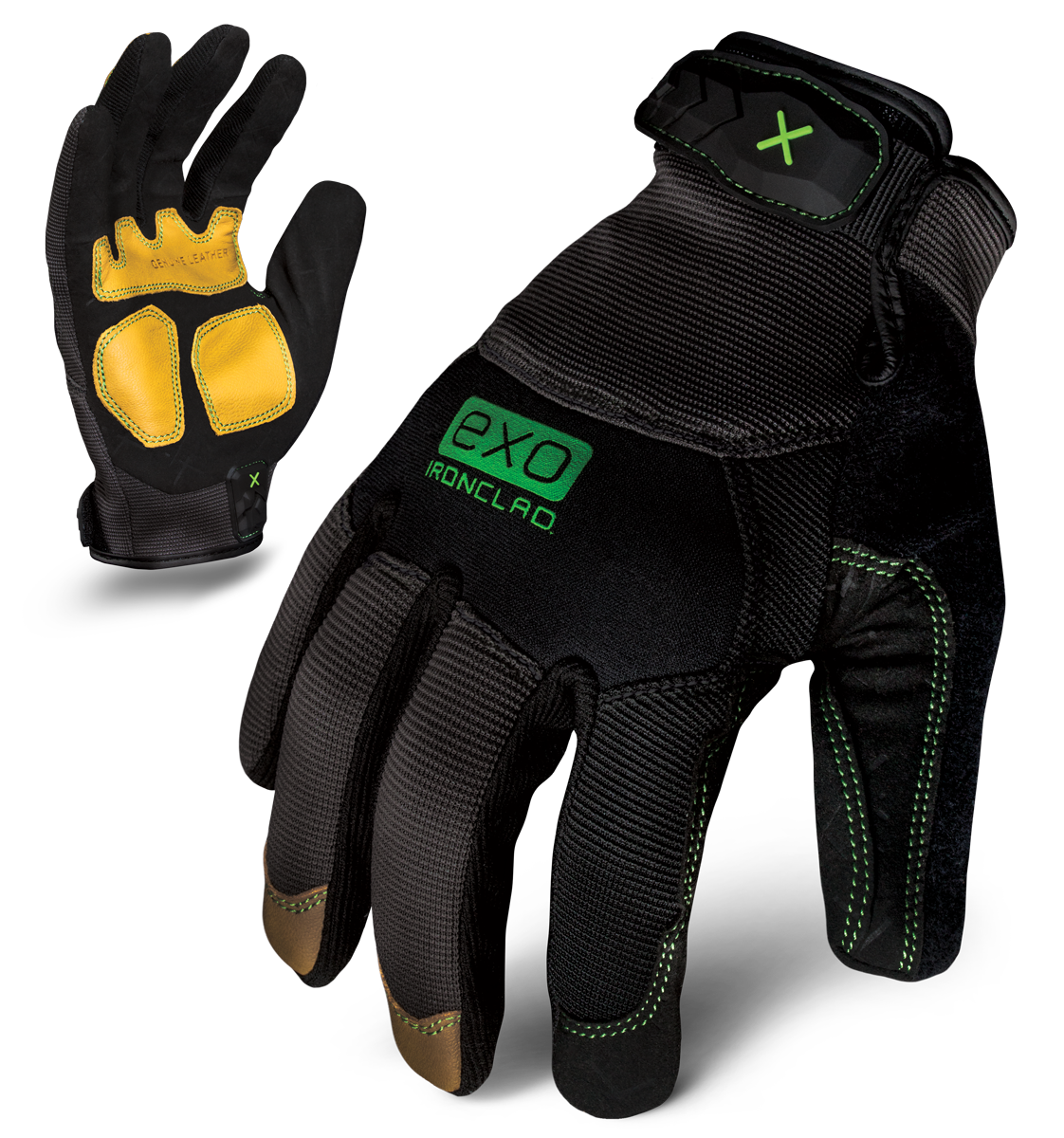 IRONCLAD EXO2-MLR - EXO MODERN LEATHER REINFORCED GLOVE