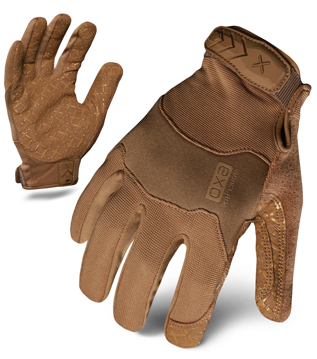 IRONCLAD EXOT-GCOY - EXO TACTICAL OPERATOR GRIP GLOVE (COYOTE)
