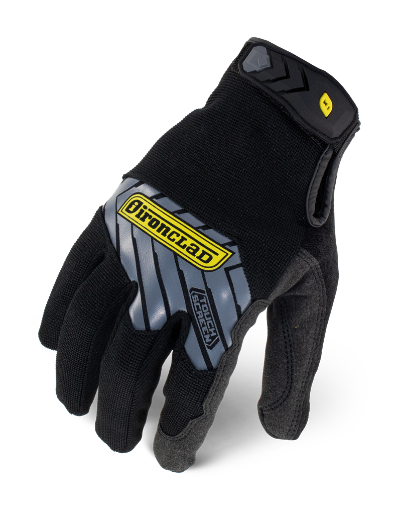 IRONCLAD IEX-MPRE - COMMAND SERIES PRO GLOVE REINFORCED BLACK