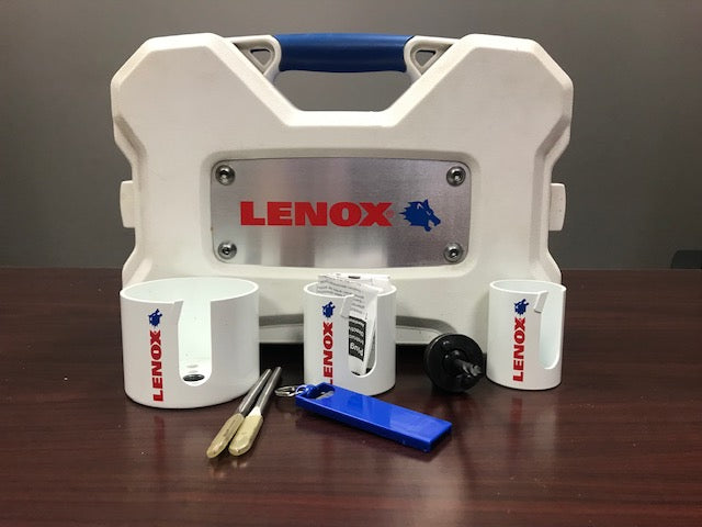 LENOX 7PC ONE TOOTH ROUGH WOOD HOLE CUTTER KIT
