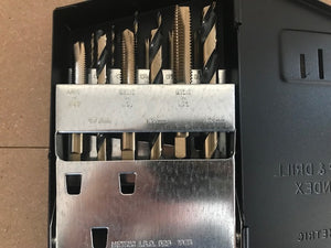 NORSEMAN 18PC B&G METRIC TAP & DRILL SET