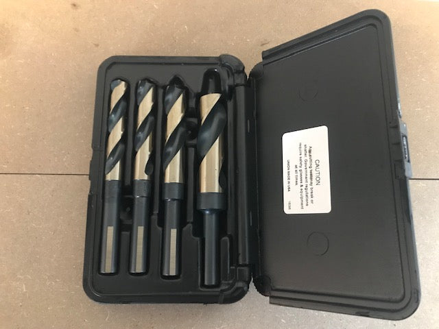 4 PC BLACK & GOLD S&D DRILL BIT SET (SD4SP)