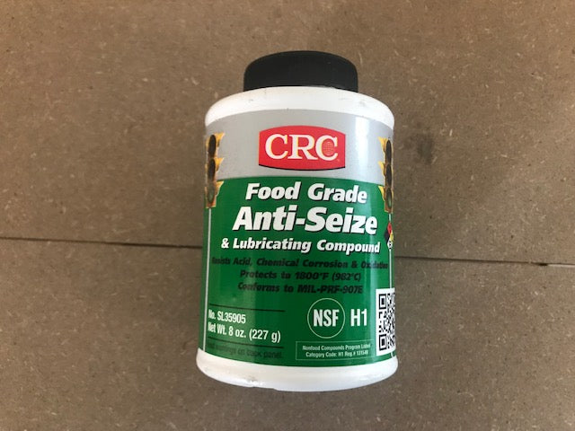 CRC FOOD GRADE ANTI-SEIZE 8OZ BRUSH TOP