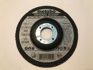 "METABO 4 1/2"" X .045"" X 7/8"", TYPE 27, A60TZ ORIGINAL SLICER CUTTING WHEEL (655346000) 50/BOX"