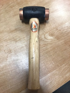 "THOREX 1 3/4"" SOFTFACE COPPER HAMMER"