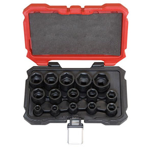 "PROFERRED 1/2"" DRIVE IMPACT SAE SOCKET SET"