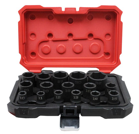 "PROFERRED 1/2"" DRIVE IMPACT METRIC SOCKET SET"