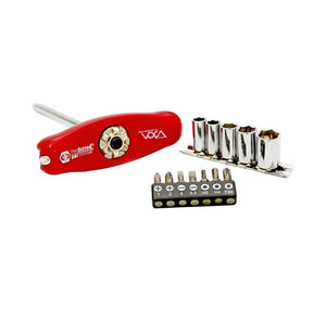 "PROFERRED S39001 - 1/4"" DRIVE (72 TEETH) TINY BONE 5 IN 1 RATCHET HANDLE"