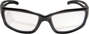 EDGE EYEWEAR - KAZBEK - SK111VS - BLACK FRAME / CLEAR VAPOR SHIELD LENS