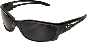 EDGE EYEWEAR - KAZBEK - SK116VS - BLACK FRAME / SMOKE VAPOR SHIELD LENS