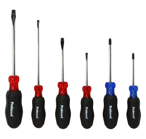 PROFERRED T28001 - 6 PIECE ACETATE SCREWDRIVER SET