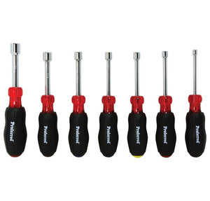 PROFERRED T28003 - 7 PIECE HOLLOW SHANK SAE NUT DRIVER SET