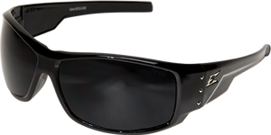 EDGE EYEWEAR CARAZ - THZ216 - BLACK FRAME - POLARIZED SMOKE LENS