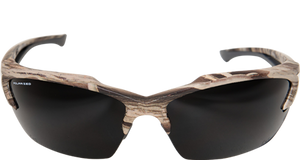 EDGE EYEWEAR KHOR - TSDK21CK - FOREST CAMOUFLAGE FRAME - POLARIZED SMOKE, ANTI REFLECTIVE, YELLOW LENSES KIT