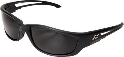 EDGE EYEWEAR KAZBEK XL - TSK-XL216 - BLACK FRAME - POLARIZED SMOKE LENS