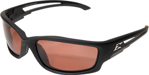 EDGE EYEWEAR KAZBEK - TSK215 - BLACK FRAME - POLARIZED COPPER DRIVING LENS