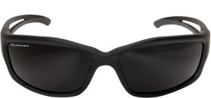 EDGE EYEWEAR KAZBEK - TSK216 - BLACK FRAME - POLARIZED SMOKE LENS