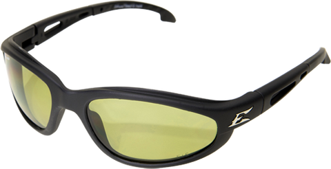 EDGE EYEWEAR DAKURA - TSM212 - BLACK FRAME - POLARIZED YELLOW LENS