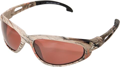 EDGE EYEWEAR DAKURA - TSM215CF - FOREST CAMOUFLAGE FRAME - POLARIZED COPPER DRIVING LENS