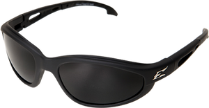 EDGE EYEWEAR DAKURA - TSM216 - BLACK FRAME - POLARIZED SMOKE LENS