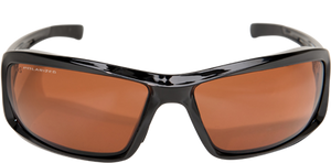 EDGE EYEWEAR BRAZEAU - TXB215 - BLACK FRAME - POLARIZED COPPER DRIVING LENS