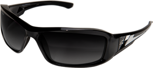 EDGE EYEWEAR BRAZEAU - TXBG216 - BLACK FRAME - POLARIZED GRADIENT SMOKE LENS