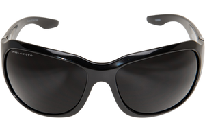 EDGE EYEWEAR CIVETTA - TYC216 - BLACK FRAME - POLARIZED SMOKE LENS
