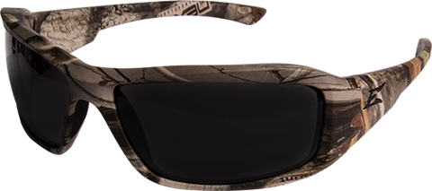 "EDGE EYEWEAR BRAZEAU - TXB216CF -  FOREST CAMOUFLAGE FRAME - POLARIZED SMOKE LENS - CUSTOMIZABLE ""E"""