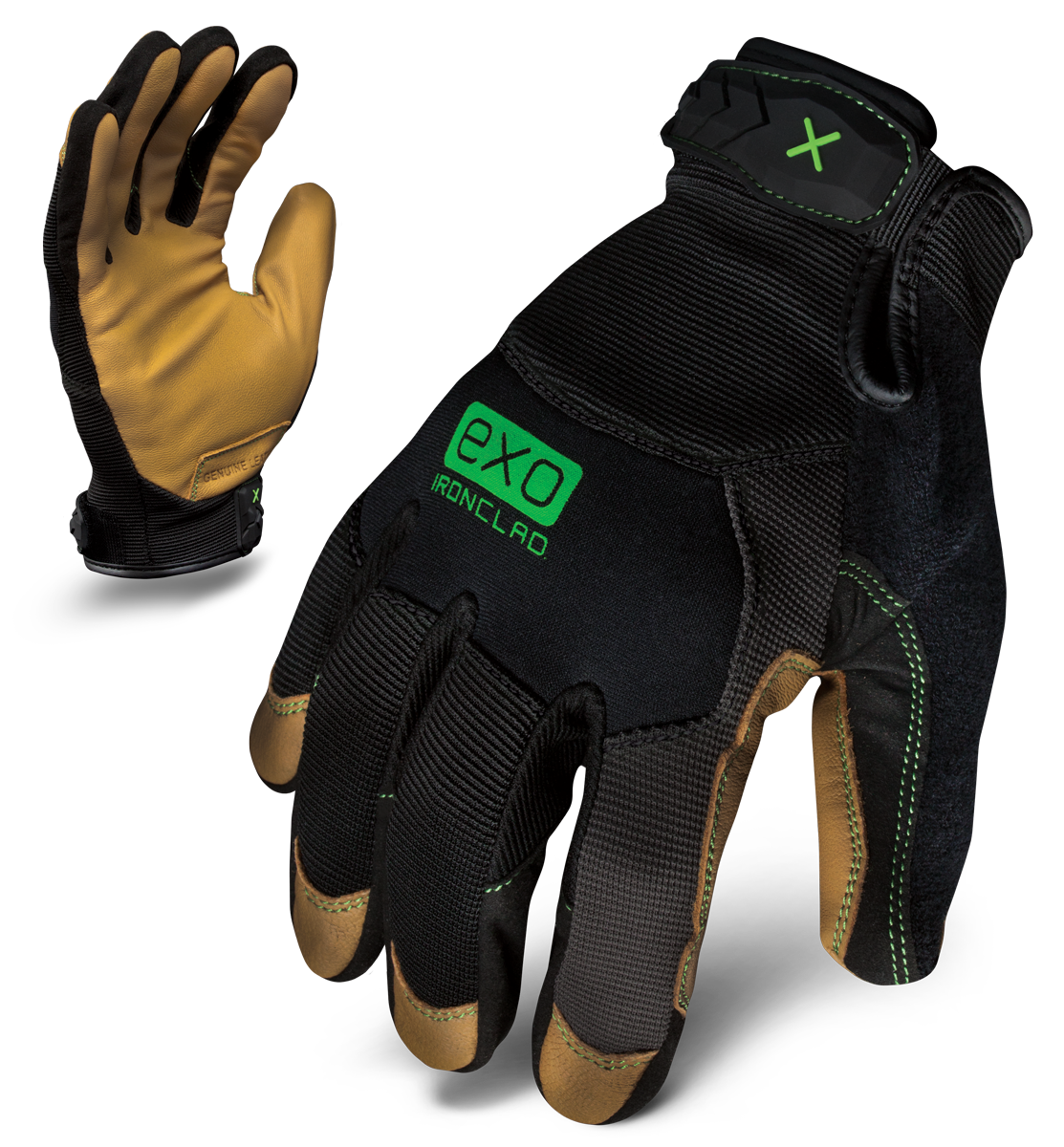 IRONCLAD EXO2-MOL - EXO MODERN LEATHER GLOVE