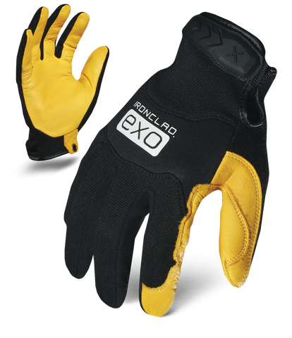 IRONCLAD EXO2-MPLC - EXO MOTOR PRO GOLD COWHIDE GLOVE