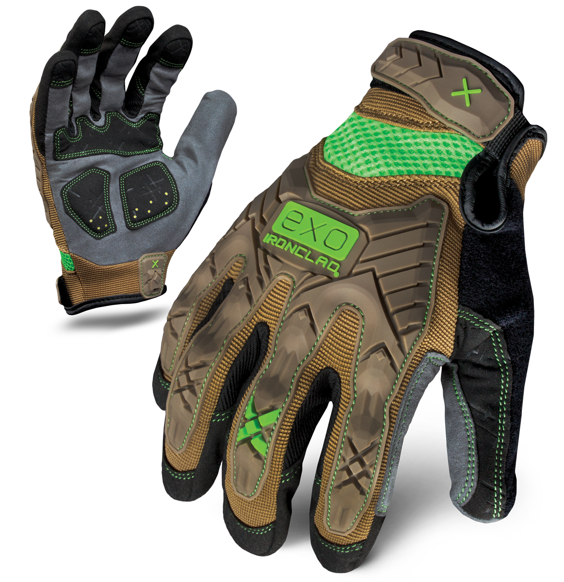 IRONCLAD EXO2-PIG - EXO PROJECT IMPACT GLOVE