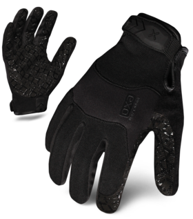 IRONCLAD EXOT-GBLK-W - EXO TACTICAL GRIP WOMEN'S GLOVE (BLACK)
