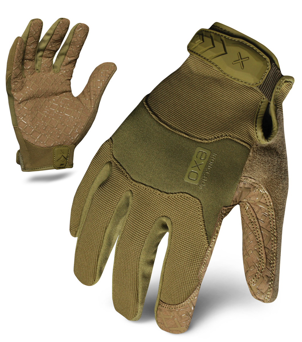 IRONCLAD EXOT-GODG - EXO TACTICAL OPERATOR GRIP GLOVE (GREEN)