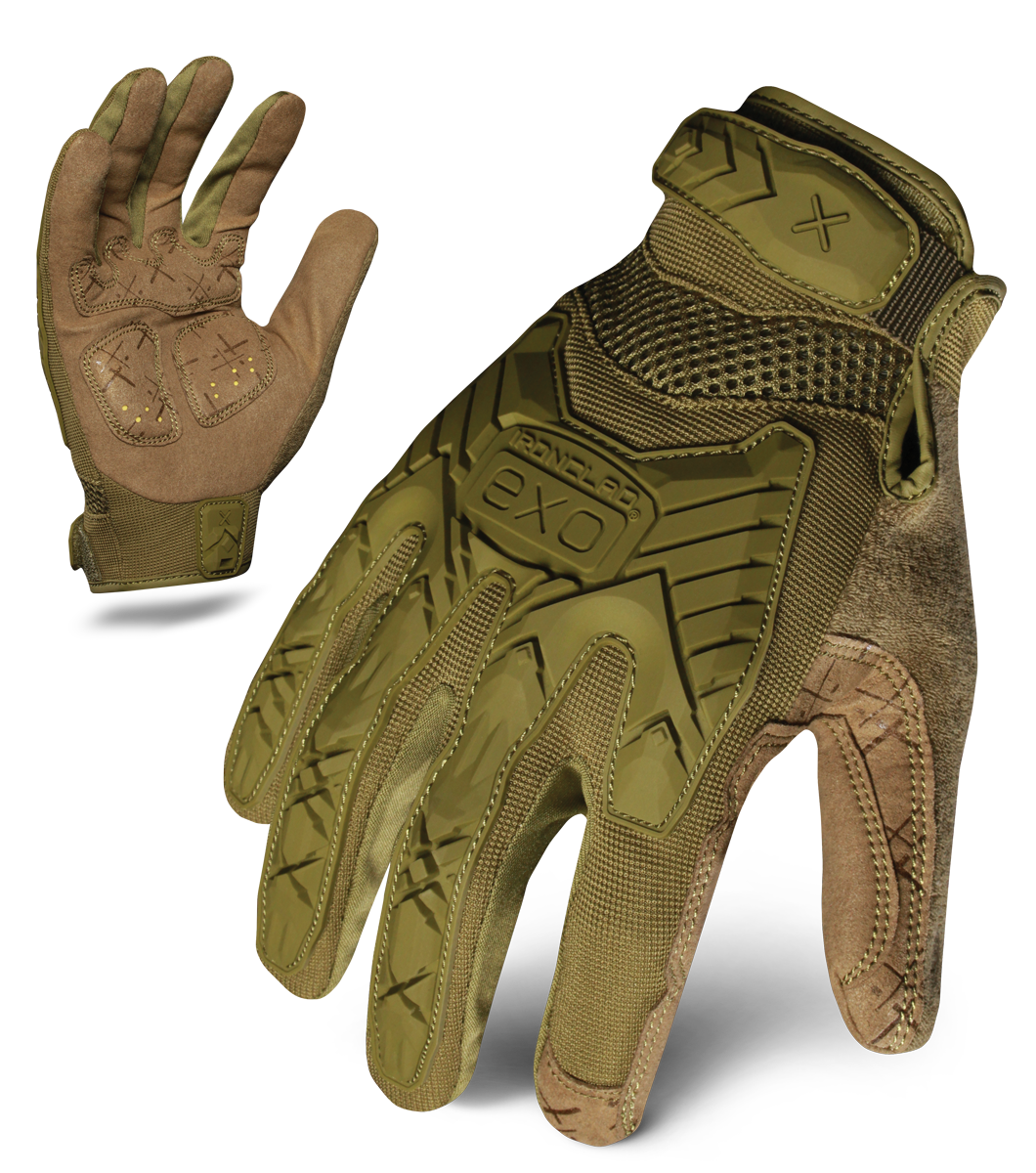 IRONCLAD EXOT-IODG - EXO TACTICAL OPERATOR IMPACT GLOVE (GREEN)