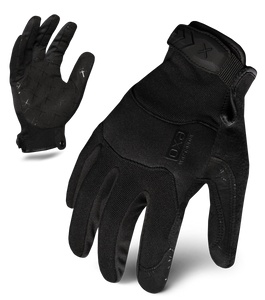IRONCLAD EXOT-PBLK-W - EXO TACTICAL PRO WOMEN'S GLOVE (BLACK)