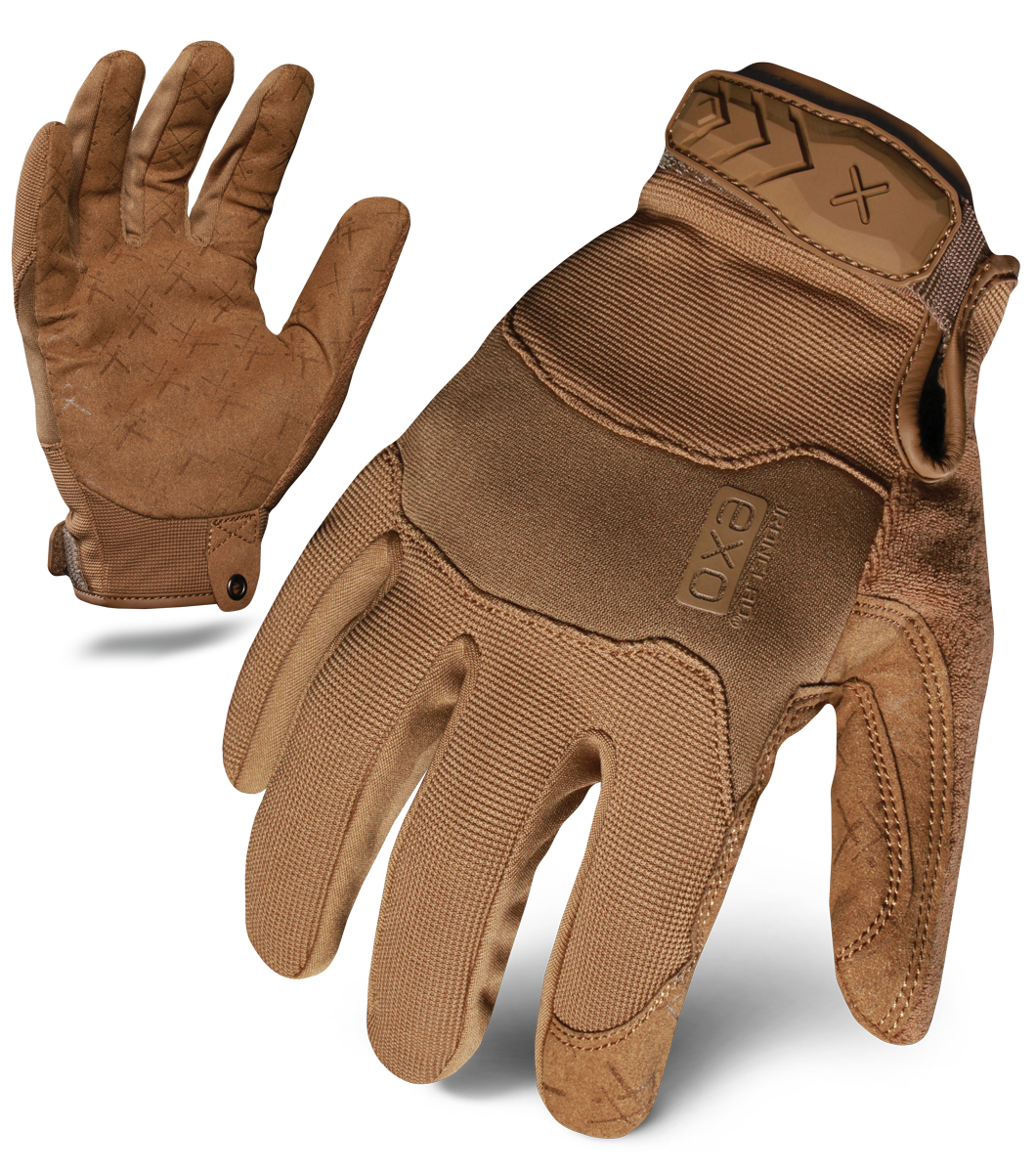 IRONCLAD EXOT-PCOY - EXO TACTICAL OPERATOR PRO GLOVE (COYOTE)