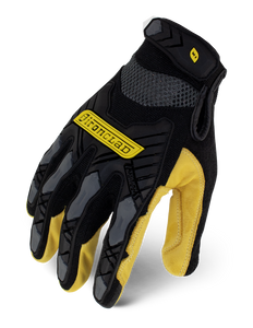 IRONCLAD IEX-MIGL - COMMAND SERIES IMPACT LEATHER GLOVE BLACK